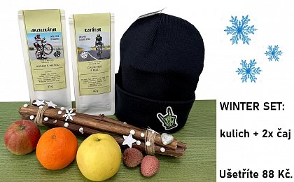 WINTER SET: kulich + 2x čaj